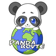 Panda Route Travel Planner WRT Widget Logo